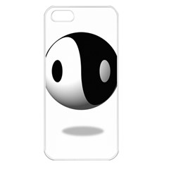 Yin Yang Apple Iphone 5 Seamless Case (white)