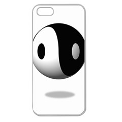 Yin Yang Apple Seamless Iphone 5 Case (clear)