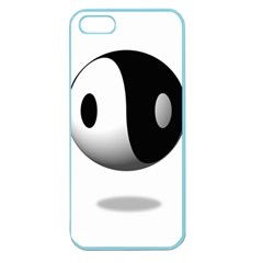 Yin Yang Apple Seamless Iphone 5 Case (color)