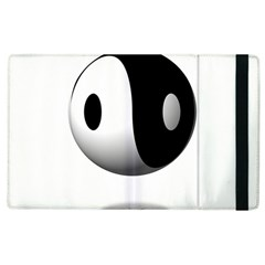 Yin Yang Apple iPad 2 Flip Case