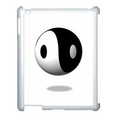 Yin Yang Apple Ipad 3/4 Case (white)