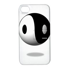 Yin Yang Apple Iphone 4/4s Hardshell Case With Stand