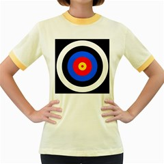 Target Womens  Ringer T Shirt (colored)