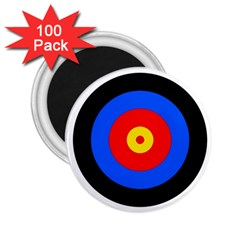 Target 2 25  Button Magnet (100 Pack)