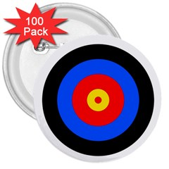 Target 3  Button (100 pack)