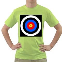 Target Mens  T Shirt (green)