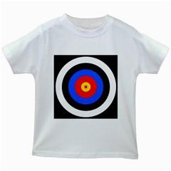 Target Kids' T Shirt (white)