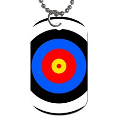Target Dog Tag (one Sided)