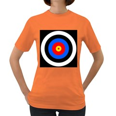 Target Womens' T-shirt (Colored)