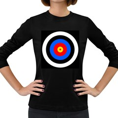 Target Womens' Long Sleeve T-shirt (Dark Colored)