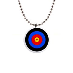 Target Button Necklace