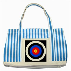 Target Blue Striped Tote Bag