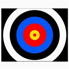 Target Canvas 8  X 10  (unframed)