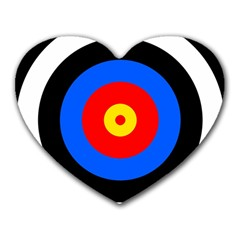 Target Mouse Pad (heart)