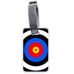 Target Luggage Tag (Two Sides)