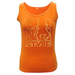 Gangnam Style Womens  Tank Top (Dark Colored)