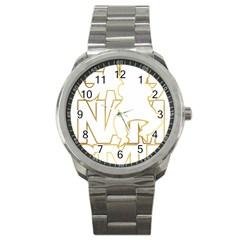 Gangnam Style Sport Metal Watch
