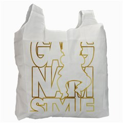 Gangnam Style Recycle Bag (one Side)
