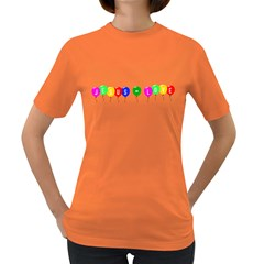 Balloons Womens' T-shirt (Colored)