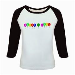 Balloons Women s Long Cap Sleeve T-Shirt
