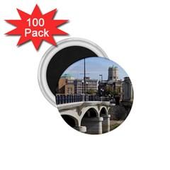 Hamilton 1 1 75  Button Magnet (100 Pack)