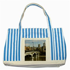 Hamilton 1 Blue Striped Tote Bag