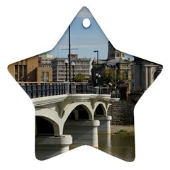 Hamilton 1 Star Ornament (Two Sides)