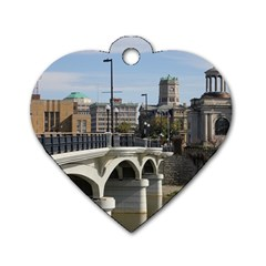 Hamilton 1 Dog Tag Heart (Two Sided)