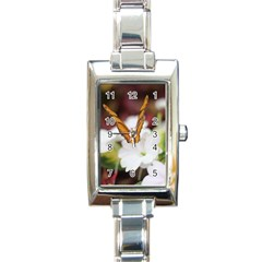Butterfly 159 Rectangular Italian Charm Watch