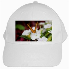 Butterfly 159 White Baseball Cap