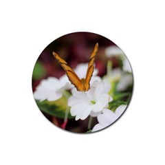 Butterfly 159 Drink Coaster (Round)