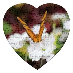 Butterfly 159 Jigsaw Puzzle (Heart)
