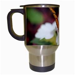 Butterfly 159 Travel Mug (white)