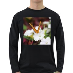 Butterfly 159 Mens' Long Sleeve T Shirt (dark Colored)