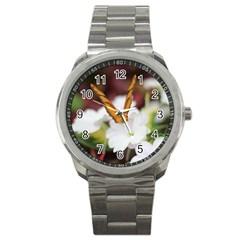Butterfly 159 Sport Metal Watch