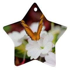 Butterfly 159 Star Ornament (two Sides)