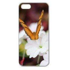 Butterfly 159 Apple Seamless iPhone 5 Case (Clear)