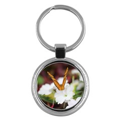 Butterfly 159 Key Chain (Round)