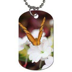 Butterfly 159 Dog Tag (one Sided)