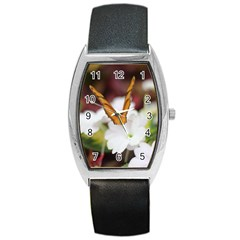 Butterfly 159 Tonneau Leather Watch