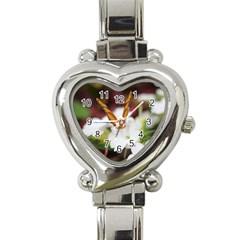 Butterfly 159 Heart Italian Charm Watch