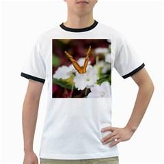 Butterfly 159 Mens' Ringer T-shirt