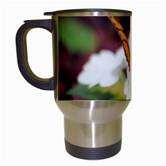 Butterfly 159 Travel Mug (White)