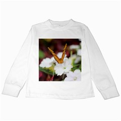 Butterfly 159 Kids Long Sleeve T-Shirt