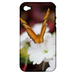 Butterfly 159 Apple iPhone 4/4S Hardshell Case (PC+Silicone)