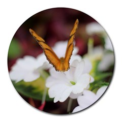 Butterfly 159 8  Mouse Pad (Round)