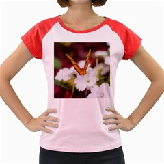 Butterfly 159 Women s Cap Sleeve T-Shirt (Colored)