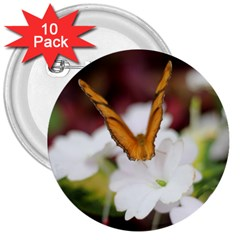 Butterfly 159 3  Button (10 pack)