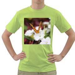 Butterfly 159 Mens  T-shirt (Green)