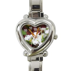 Butterfly 159 Heart Italian Charm Watch